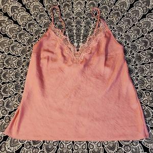 Victoria's Secret Pink Soft Lace Accent Camisole